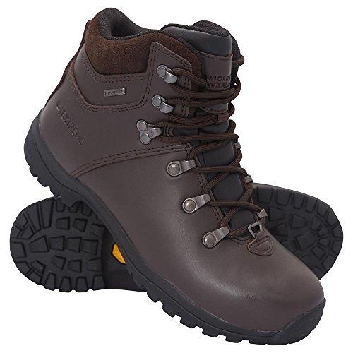 Bergplaats Breacon Dameslaarzen - Trekkingschoenen Vibram Dames Bruin