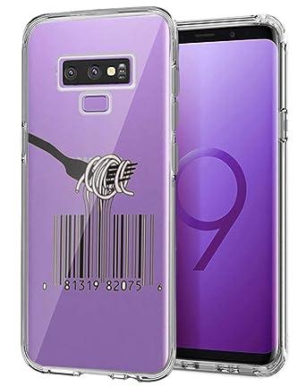 Amazon com: Case for Samsung Galaxy Note 9 Qr Code Noodles