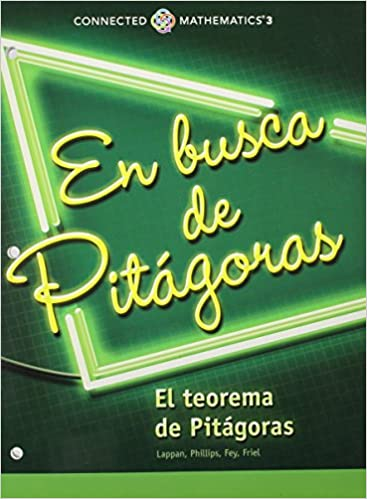 Buy Connected Mathematics 3 Spanish Student Edition Grade 8 Looking