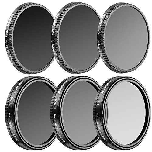 Neewer Multi-coated 6 Pieces Filter Kit for DJI OSMO/Inspire