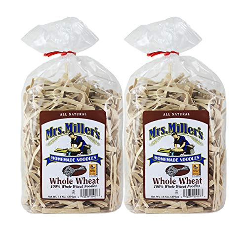Mrs. Millers Homemade Whole Wheat Noodles 14 oz. Bag (2 Bags)