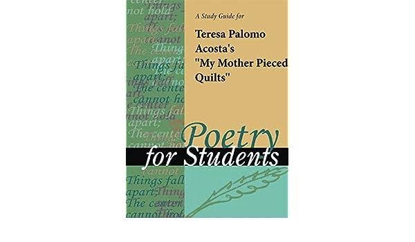 A Study Guide for Teresa Palomo Acosta's