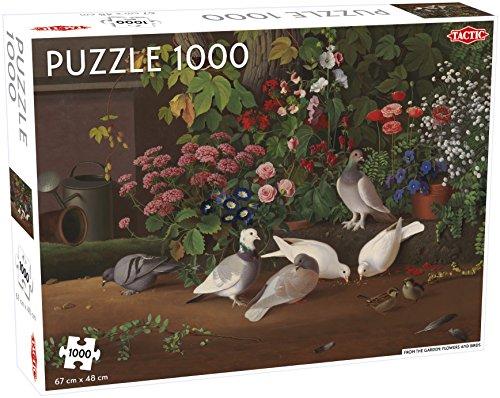 Tactic 55246 Fiori E Uccelli Puzzle Da 1000 Pezzi Multicolore