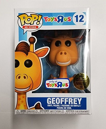 LIMITED EDITION FUNKO POP AD ICONS GEOFFREY THE GIRAFFE 12 - TOYS 'R US EXCLUSIVE VINYL FIGURE with GOLDEN TICKET CHANCE!