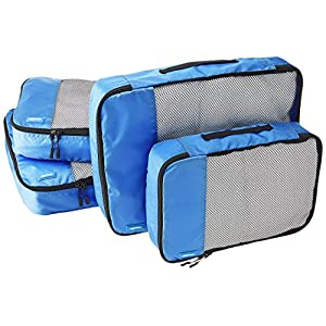 Travelquantum - Compare Cheap Flights, Hotels & Car Hire. 51yck2KyS8L._SS300_ Amazon Basics 4 Piece Packing Travel Organizer Cubes Set - 2 Medium and 2 Large, Blue