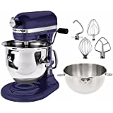 KitchenAid 575 Watt Bowl Lift Stand Mixer with Combi-Whip, 6 quart - Cobalt Blue