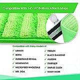 Microfiber Mop Pads 4 Pack - Reusable Washable