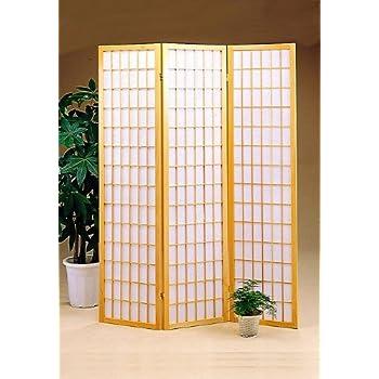 This Item 3 Panel Natural Room Divider Shoji Screen