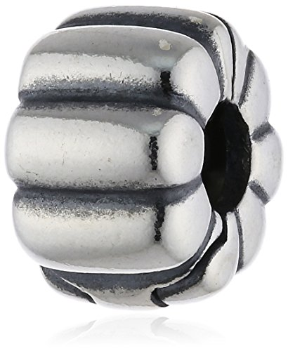 Pandora Ribbed Clip Silver...