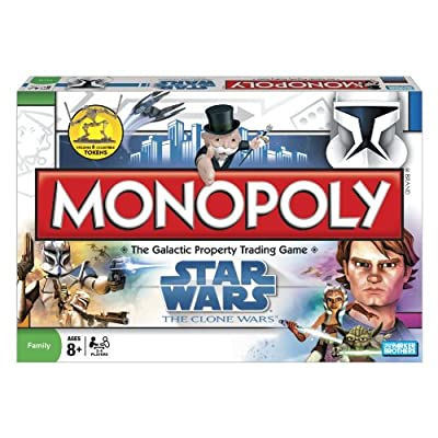Star Wars The Clone Wars Monopoly: Toys & Games