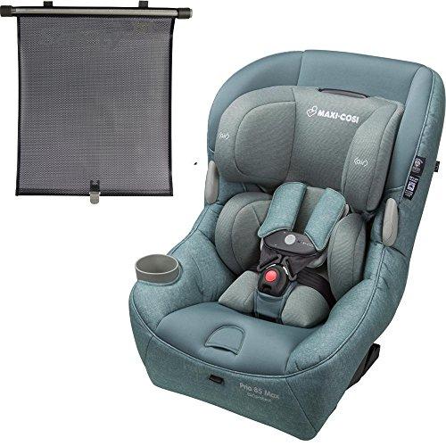 Maxi-Cosi USA Pria 85 Max Convertible Car Seat - Nomad Green with BONUS Retractable Window Shade