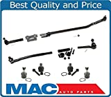 99-04 Excursion F250 F350 Super REAR WHEEL DRIVE Drag Link & Tie Rod Rods 10Pc