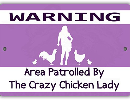 Patrolled Chicken Indoor Outdoor Aluminum product image