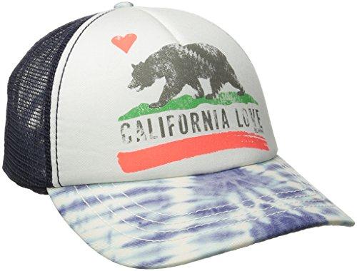 Junior's Pitstop Trucker Hat, Blue Cruz, One Size