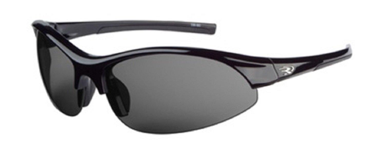 bef225553c6 Ryders Eyewear Nitrous Polarized Sunglasses (Grey + Orange + Clear Lens Black  Frame)  Amazon.ca  Sports   Outdoors