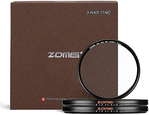 ZOMEI - Filtro Estrella de 77 mm, 4 Puntos, 6 Puntos, 8 Puntos ...