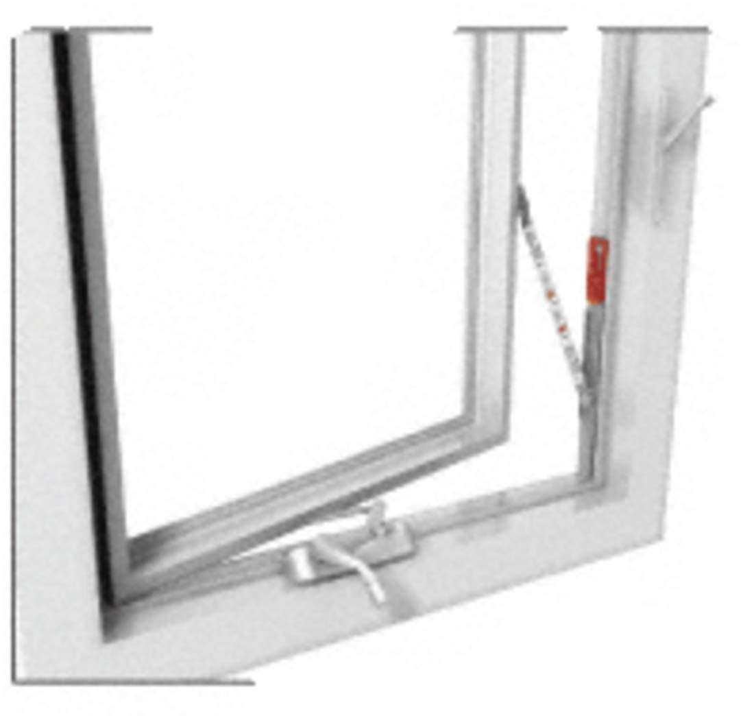 CRL Truth Left Hand Stainless Steel Casement Window Opening Control Device by CR Laurence (Image #3)