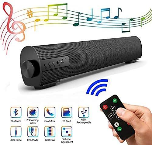 10W Wireless Bluetooth Speaker, Built-in Subwoofer, 16.9 Inc