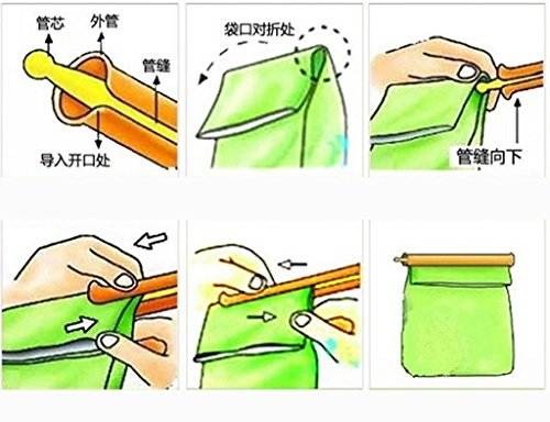 How To Fold A Chip Bag To Seal It - 2