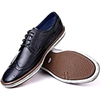 Mio Marino Mens Dress Shoes - Fashion Casual Oxford Shoes for Men
