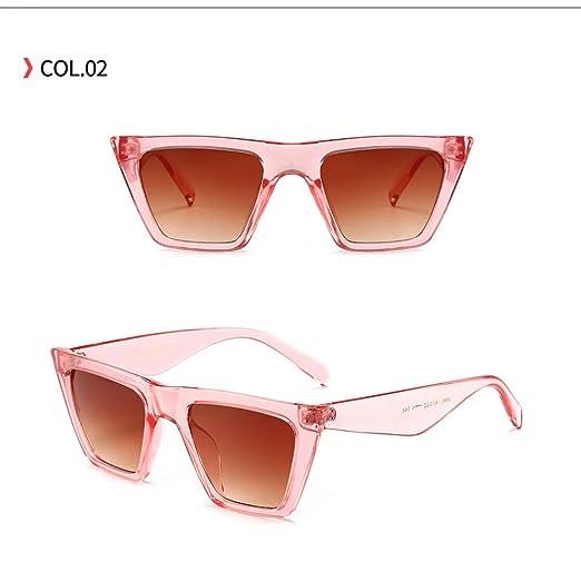 Yangjing-hl Gafas de Sol Moda Hipster Gafas de Sol Anti-UV ...