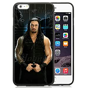 iPhone 6 Plus/iPhone 6S Plus 5.5 Inch TPU Case ,Wwe Superstars Collection Wwe 2k15 Roman Reigns 14 Black iPhone 6 Plus/iPhone 6S Plus Cover Unique And Durable Designed Phone Case