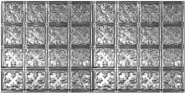 """10 (2' x 4') sheets of Tin Ceilings #0610 80 sq.ft. 6"""" Decorative Victorian Design"""