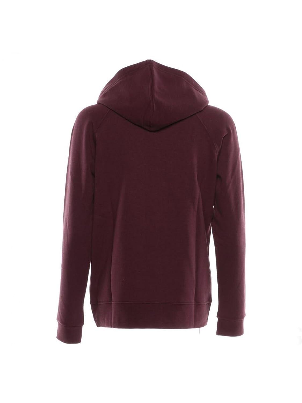 CONVERSE Women s Sweatshirt Purple bordeaux Large  MainApps  Amazon.co.uk   Clothing c58fc2e127
