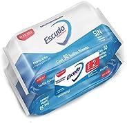 Escudo Antibacterial, Toallitas Húmedas Antibacteriales Para Manos, 100 Piezas (2 paquetes de 50 toallitas c/u