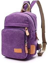 KISS GOLD(TM) Multipurpose Sporty Canvas Chest Bag , Satchel Backpack, Knapsack