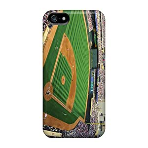 Shockproof Cell-phone Hard Covers For Iphone 5/5s With Support Your Personal Customized Nice Minnesota Twins Image LauraFuchs
