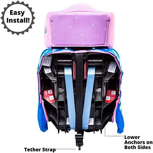 51ycqAPZGIL - KidsEmbrace 2-in-1 Harness Booster Car Seat, Disney Princess Cinderella, Pink