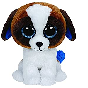 "TY Beanie Boos Duke the Dog 6"" PLUSH - 51ycqm3Re9L - Ty Beanie Boo Plush – Duke The Dog 15cm"