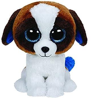 Amazon.com  Ty Beanie Boo Plush - Duke the Dog 15cm  Toys   Games 7e345837ae13