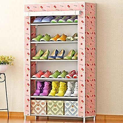 Beau ONE FIVE DAY Sale Shoe Cabinet 6 Grid Pattern Non Woven Fabrics Large Shoe
