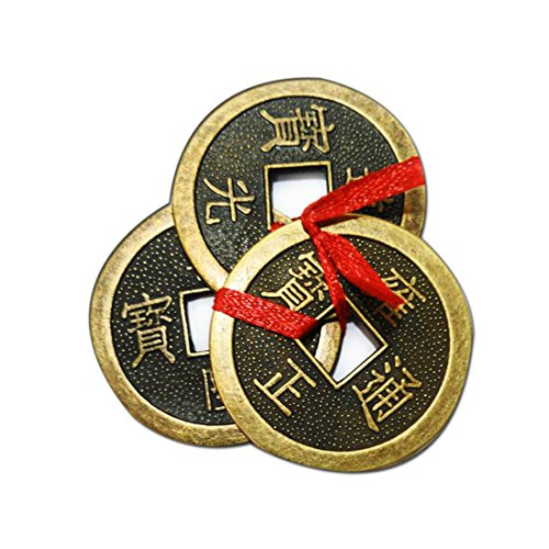 (Divya Mantra Chinese Feng Shui Antique Fortune I-Ching 2