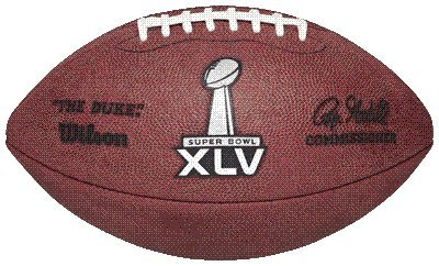 (NFL Official Wilson Super Bowl 45 Football)