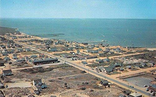 Dewey Beach Delaware Aerial View Vintage Postcard J70620