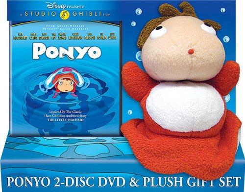 Ponyo DVD Plush Set (Bilingual)