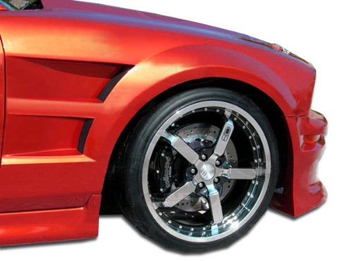 (Duraflex ED-HDU-799 GT Concept Fenders - 2 Piece Body Kit - Compatible For Ford Mustang 2005-2009)