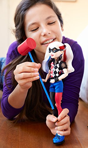 "DC Super Hero Girls Harley Quinn 12"" Action Doll"