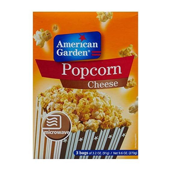 American Garden Microwave Popcorn, Cheese, 273g