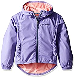 Columbia Toddler Girls\' Ethan Pond Jacket, Paisley Purple, 4T