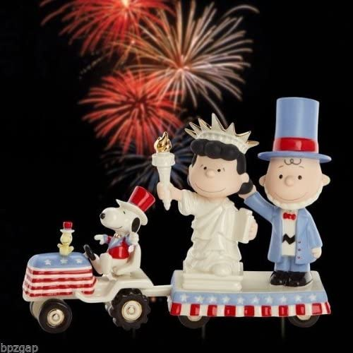 PEANUTS It s Independence Day with Charlie Brown Figurine by Lenox