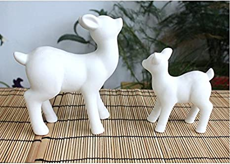 craft kit ceramic pottery bisque 3.75\u201d Elephant ring holder ready to paint perfect gift paint your own pottery