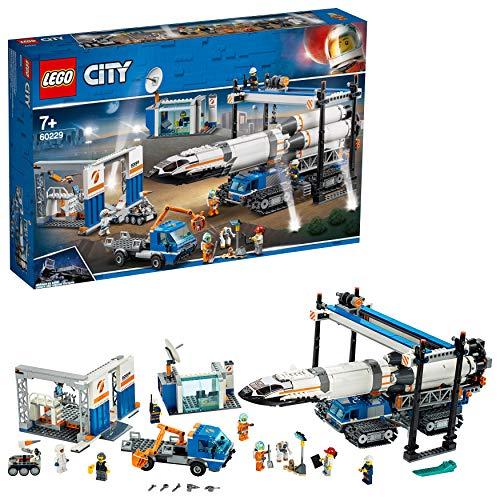 레고 (LEGO) 시티 거 대 로켓 조립 공장 60229 블록 장난감 소년 / LEGO City Giant Rocket Assembly Plant 60229 Block Toy Boys