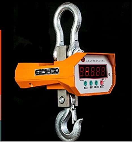 Amazon.com: MXBAOHENG 10000Kg (10 Ton) Digital Hanging Electronic Crane Scales Industrial wirless Crane Scale: Home & Kitchen