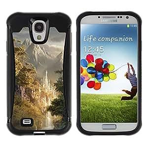 Suave TPU GEL Carcasa Funda Silicona Blando Estuche Caso de protección (para) Samsung Galaxy S4 IV I9500 / CECELL Phone case / / Design Japanese Forrest Mountains /