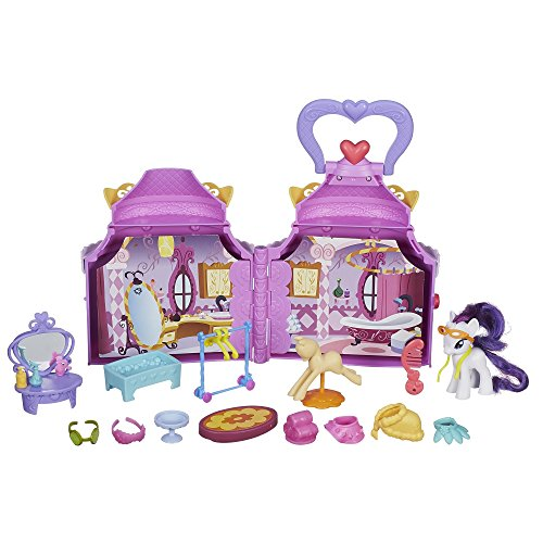 My Little Pony Cutie Mark Magic Rarity Booktique Playset(Discontinued by manufacturer) (My Little Pony The Crystal Empire Part 1)