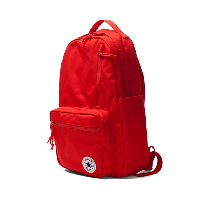 09b86894816 Amazon.com   Converse All Star Go Backpack Solid Colors, Red One Size    Backpacks